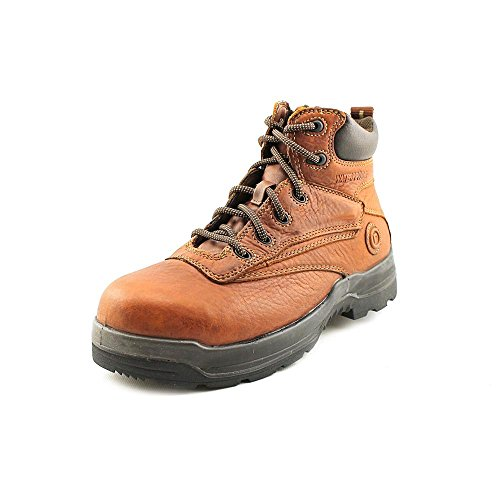 Rockport Womens Deer Tan WP Leather Work Boots More Energy Comp Toe 11 W