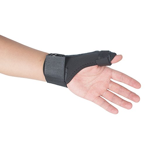 Lolicute Tenosynovitis Brace Trigger Thumb Splint Thumb Spica Splint Thumb Wrist Splint Brace Wrist and Thumb Brace Baseball Thumb Guard Catching