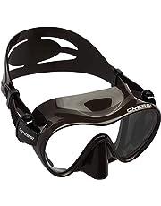 Cressi F1 Small Mask, Maschera Subacquea Monovetro Temperato del Tipo Frameless, Dimensioni ridotte