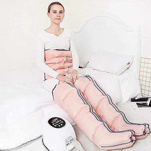 ZBAM Macchina per Massaggio del Piede a Compressione d'Aria Massaggiatore Elettrico per Gambe per Vita/Braccio/Piede e Polpaccio con 4 modalità di Massaggio, 10 Livelli di intensità