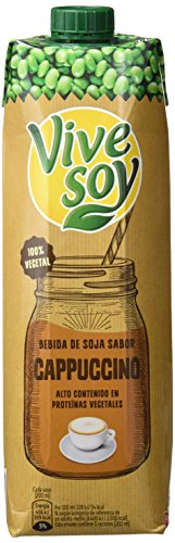 Vivesoy Sabor Cappuccino - Pack 6 x 1 L