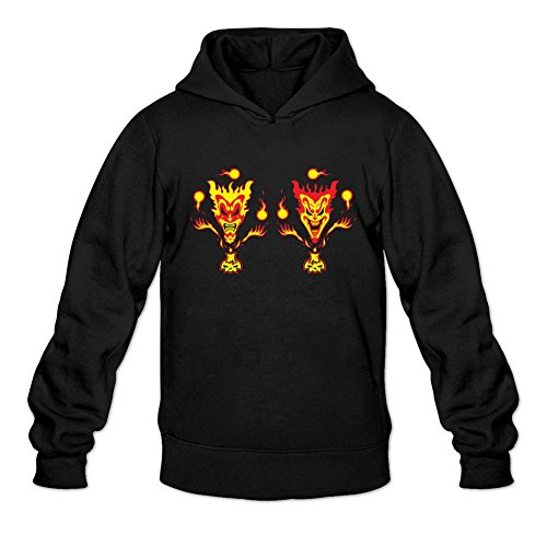 Custom Men's Hatchet Psychopathic Records ICP Printed Sweatshirt Pullover Hoodie