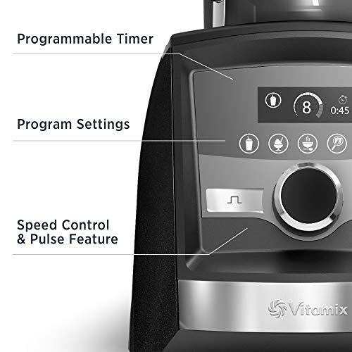 The Vitamix A3500 has tons of useful features