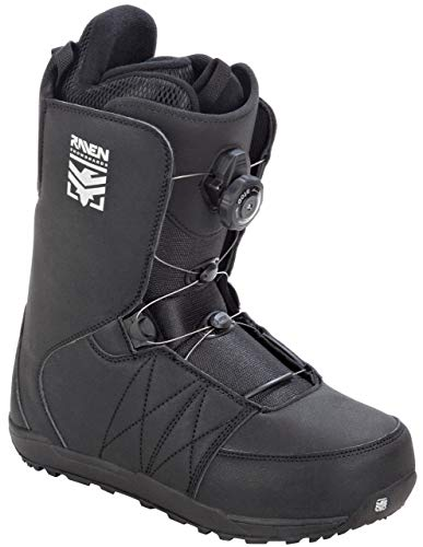 RAVEN Snowboard Boots Matrix ATOP mit Schnellverschluss (Black, 44 (29cm))