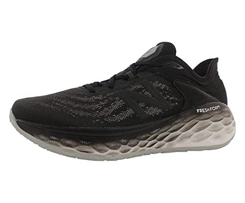 New Balance Fresh Foam More V2 - Zapatillas de correr para hombre, negro (Negro/Magneto), 46 EU