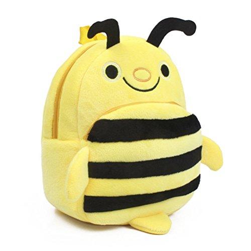 Tinksky Kindergarten Backpack Kids School Satchel Bag for Boys Girls Bee Design
