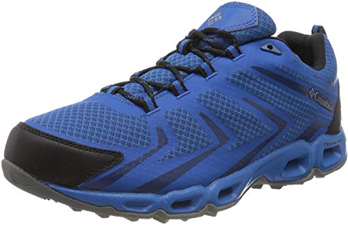 Columbia Men's Shoes Low Rise Hiking Boots, Blue Blue Jay Royal, 43