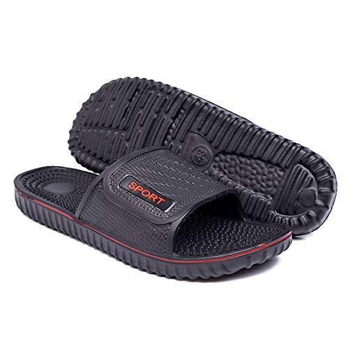 TDYSDYN Mujeres Zapatos de Piscina Chanclas de Playa,Deslizadores de los Hombres de Gran tamaño, Chanclas Antideslizantes Ligeras de Eva-60_44