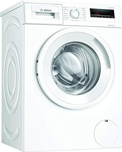 Bosch WAN282A2 Serie 4 Waschmaschine Frontlader / D / 69 kWh/100 Waschzyklen / 1388 UpM / 7 kg / Weiß / AllergiePlus / ActiveWater™ Mengenautomatik