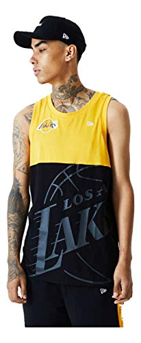New Era Camiseta sin Mangas Modelo NBA Big Logo Tank LOSLAK Marca