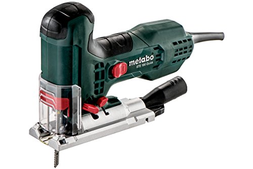 Metabo Stichsäge STE 100 Quick (601100500) Kunststoffkoffer, Nennaufnahmeleistung: 710 W, Abgabeleistung: 470 W, Schnitttiefe Holz: 100 mm