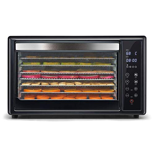 Best Price CMmin Premium Countertop Food Dehydrator-8 Tier Shelves-Digital Thermostat-Smart Touch Co...