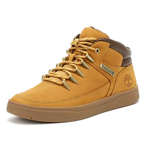 Timberland Davis Square, Chaussure de randonnée Homme, Wheat, 46 EU