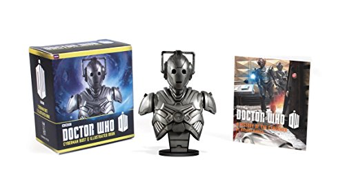 Doctor Who: Cyberman Bust and Illustrated Book (RP Minis)