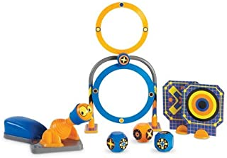 Learning Resources Turbopop! Stem Challenge, Physics & Critical Thinking Game, 16Piece, Ages 5+