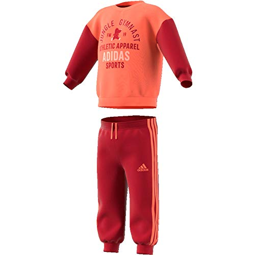 adidas Baby-Jungen I Graph Jog Ft Trainingsanzug, Semcor/Maract, 86
