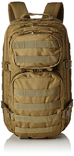 MIL-TEC US Assault Zaino militare, 20 l, Marrone (Coyote)