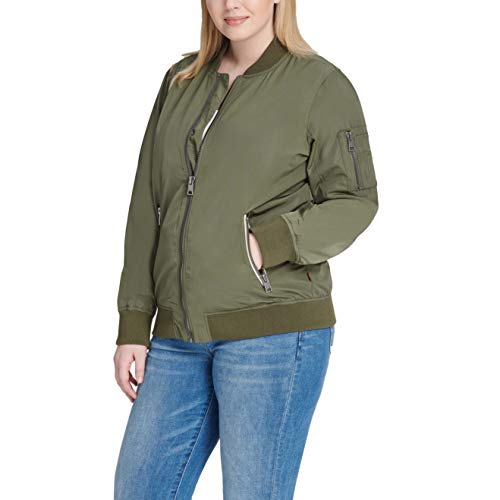 Levi's Women's Poly Bomber Jacket w…