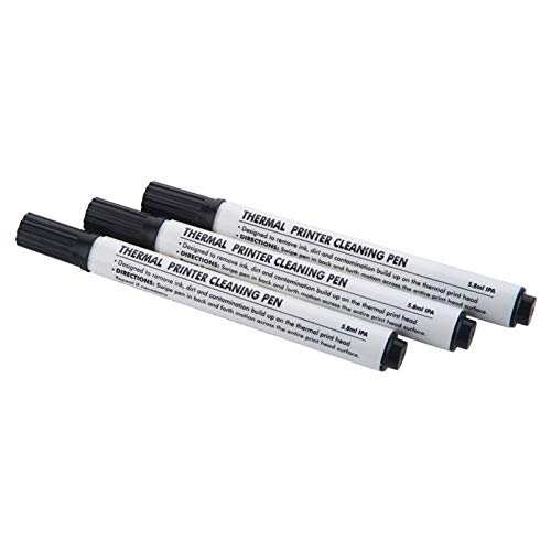 Thermodruckkopf-Reinigungsstift, 12 Stück pro Box, Wartungsreinigung auf Allen Arten von Ausweis-Druckern und Barcode, Etiketten und Quittungen Thermodruckkopf