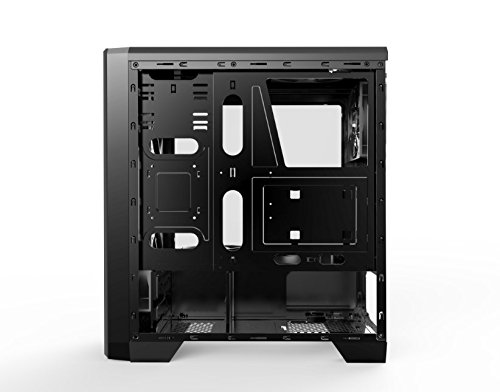 UNYKAch 52081 Carcasa de Ordenador Torre Negro - Caja de Ordenador ...
