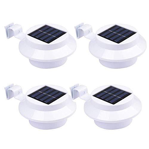 Solarlampe Gartenlampe Außenlampe Solarleuchte Zaun Wandleuchte Wandlampe Solarleuchten