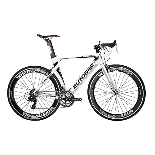 SD XC7000 ligero adulto carretera bicicleta aluminio marco carretera bicicleta 54CM 700C carretera bicicleta marco (blanco)
