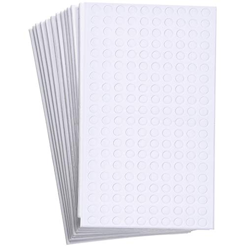2400 Pieces Foam Dots Dual-Adhesive 3D Foam Tapes Foam Pop Dots Adhesive Mount...