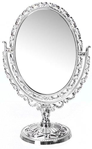 Cosmetics-Specchio in stile barocco, ovale