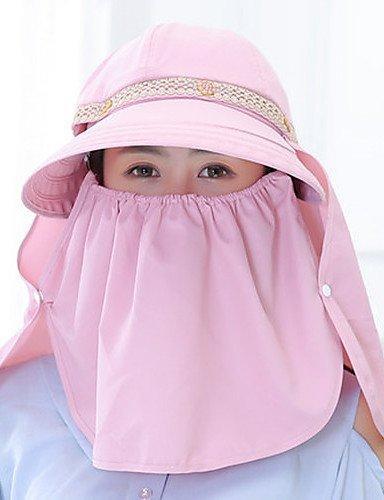 ZYT Femme Décontracté Coton Chapeau de Soleil,Imprimé Eté, Blue, One-Size