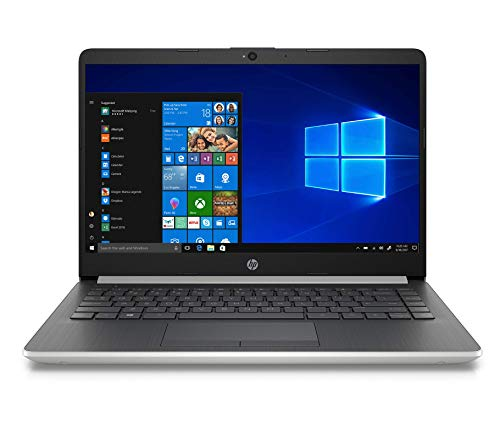 2020 HP 14' Laptop Computer/ Intel Celeron N4000 up to 2.6GHz/ 4GB DDR4 RAM/ 64GB eMMC/ 802.11ac WiFi/ Bluetooth 4.2/ Type-C/ Office 365 Personal 1-Year/ Natural Silver/ Windows 10 Home (Renewed)