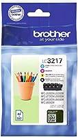 Brother LC3217VAL Cartucce InkJet Originali, Capacità Standard, per Stampanti...