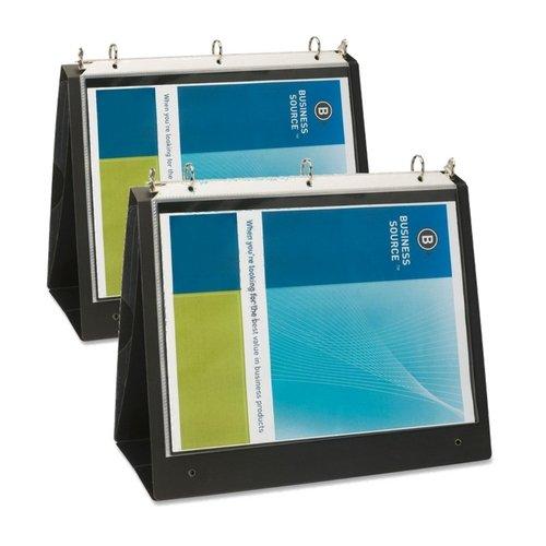 Business Source 1-Inch Easel Landscape Presentation Folder Binder (2)