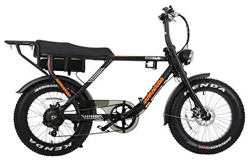 Barracuda Unisex's Rogue e-monkey bike, Black, 18'