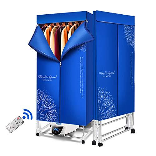 YFSS Draagbaar wasrek, opvouwbaar, elektrisch, voor kleding, elektrisch drogen, energiebesparend, voor binnen, multifunctioneel, voor het drogen aan de lucht