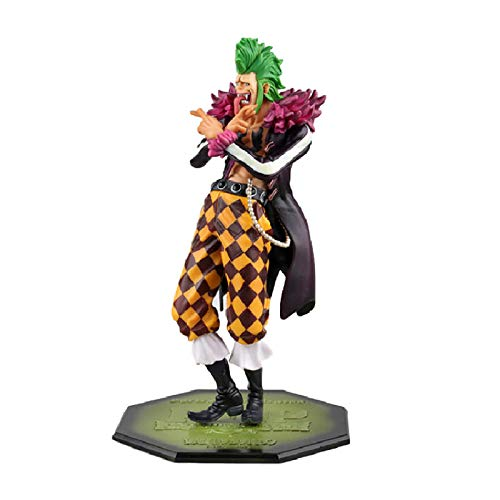 Ltong Anime One Piece Fan Barrier Null Bartolomeo Standing Ver. PVC Actionfigur Modell Sammlung Spielzeug...