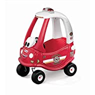 Little Tikes Cozy Coupe Fire Ride 'n Rescue - Adventure & Rescue Buggy Toy for Toddlers - With Remov...