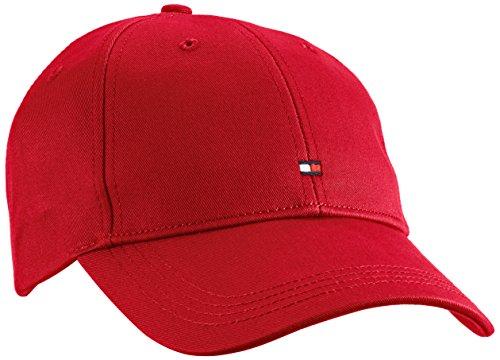 Tommy Hilfiger Classic BB Cap Gorra de béisbol, Rot (Barbados Cherry-PT 619),...