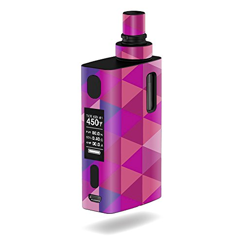 MightySkins Skin Compatible with JoyeTech eGrip 2 II – Pink Kaleidoscope | Protective, Durable, and Unique Vinyl Decal wrap Cover | Easy to Apply, Remove, and Change Styles | Made in The USA