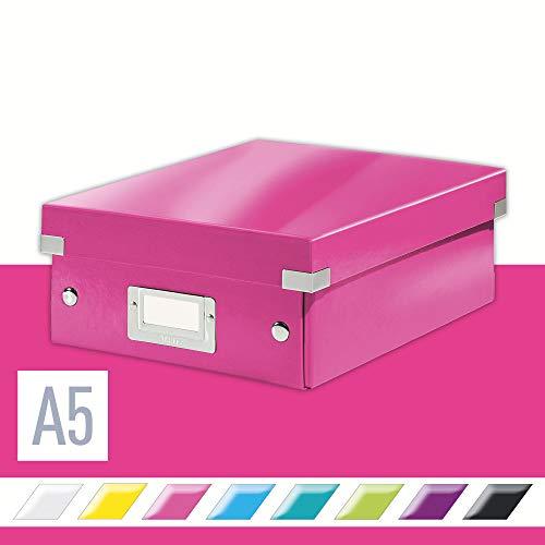 Leitz, Kleine Organisationsbox, Pink, Click & Store, 60570023