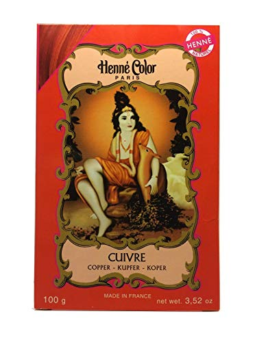 HENNA Color Pulver kupferrot CUIVRE