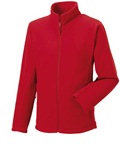 Russell Collection Fleece-Jacke R-870M-0, Farbe:Classic Red;Größe:XL XL,Classic Red
