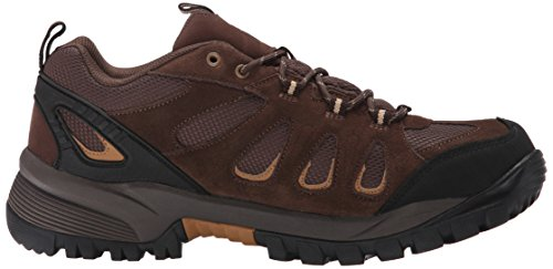 Propét mens Ridge Walker Low Hiking Ankle Bootie, Brown, 13 XX-Wide US
