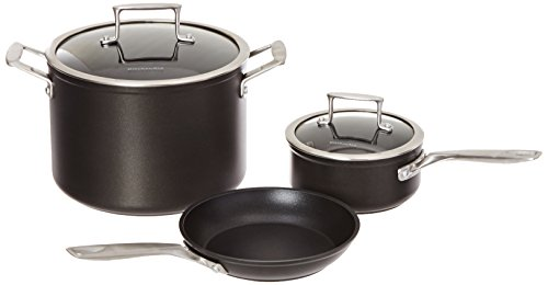 KitchenAid KCH2S5AKM Professional Hard Anodized Nonstick 5-Piece...