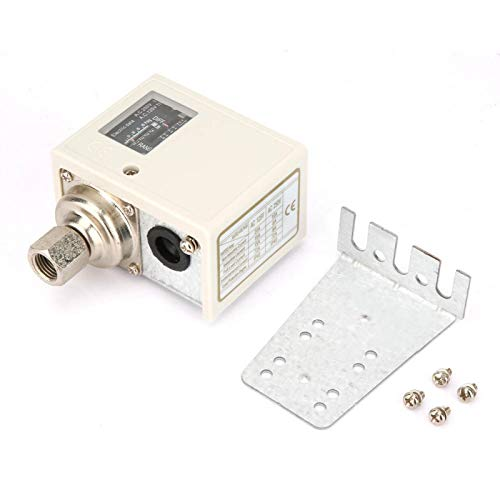 Interruptor de control de presión de agua de aire Equipo de refrigeración Sensor de presión Controlador de presión electrónico G1/4 '' para control de límite de alto y bajo voltaje