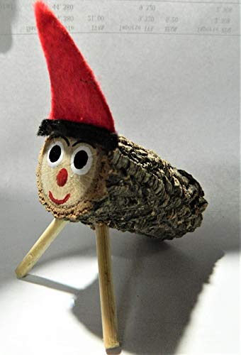 Tío de Nadal - Tronco de Navidad de madera, 20 cm, Catalán, Cataluña occitana. Tradición Catalunya