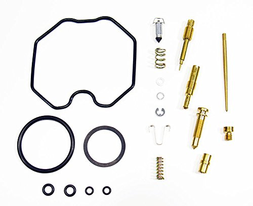 Outlaw Racing OR2546 Carburetor Carb Complete Master Repair Rebuild Kit Fits Honda CRF100F 2004-2005 And Honda Xr100R 2001, 2002, 2003– Gaskets, O-Rings, Float Valve And Jets – OEM Replacement