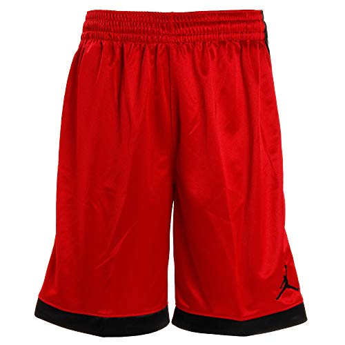 Nike Herren Jordan Shimmer Shorts, Gym Red/Black/(Black), L