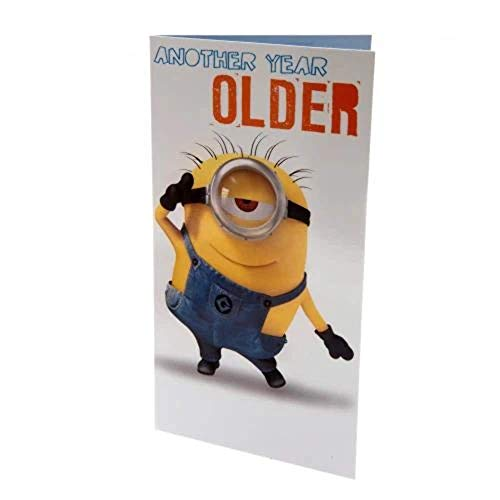 Despicable Me Minion Another Year Older Geburtstag Karte