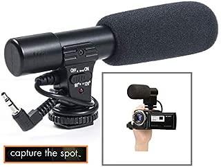 New Mini Professional Condenser Microphone for Canon VIXIA HF R80 R82 R800