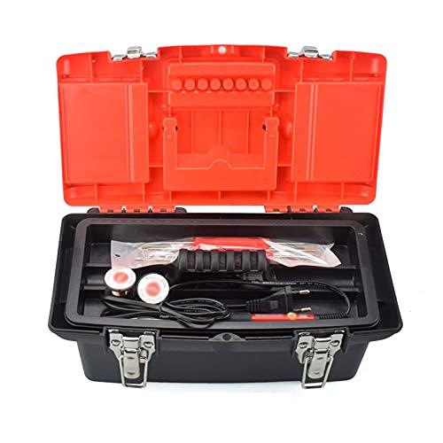 Organizador de caja de herramientas Caja de herramientas portátil Hogar Hardware Hardware Caja de almacenamiento de hardware de doble capa Caja de herramientas de reparación Electricista Accesorios de